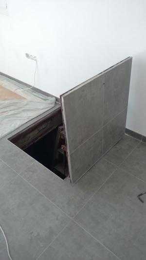Люк под плитку