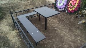 Ритуальные столы лавки металлические