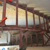 Лестница уголок швеллер
